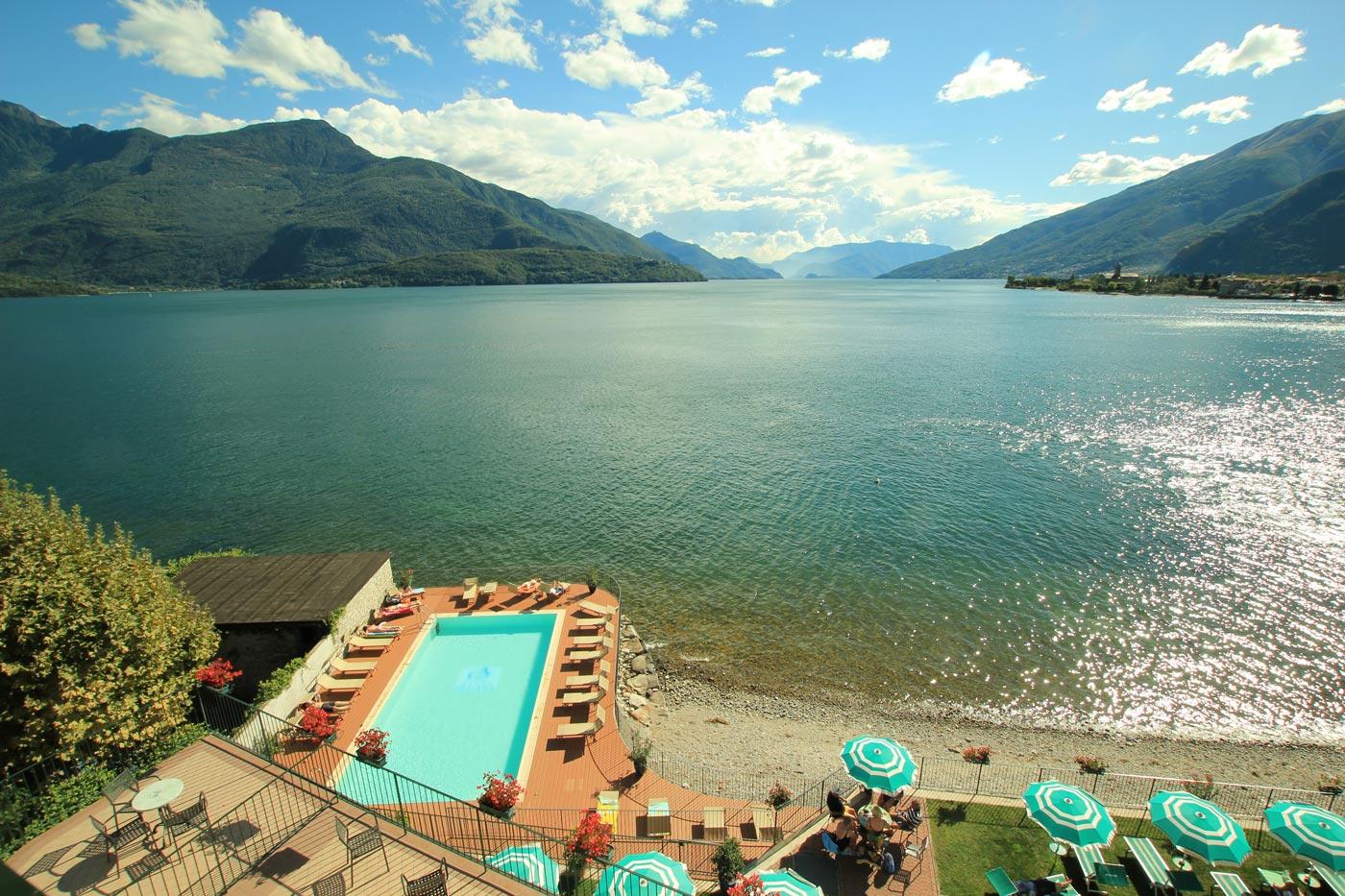 vista lago hotel regina gravedona